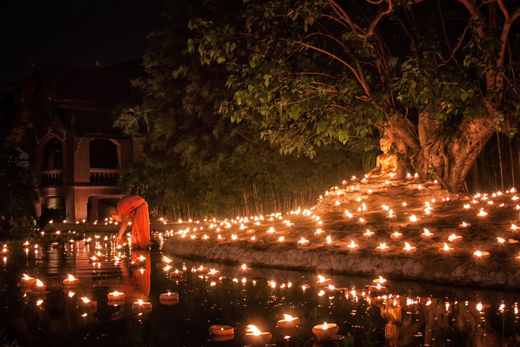 Visakha Bucha In Chiang Mai