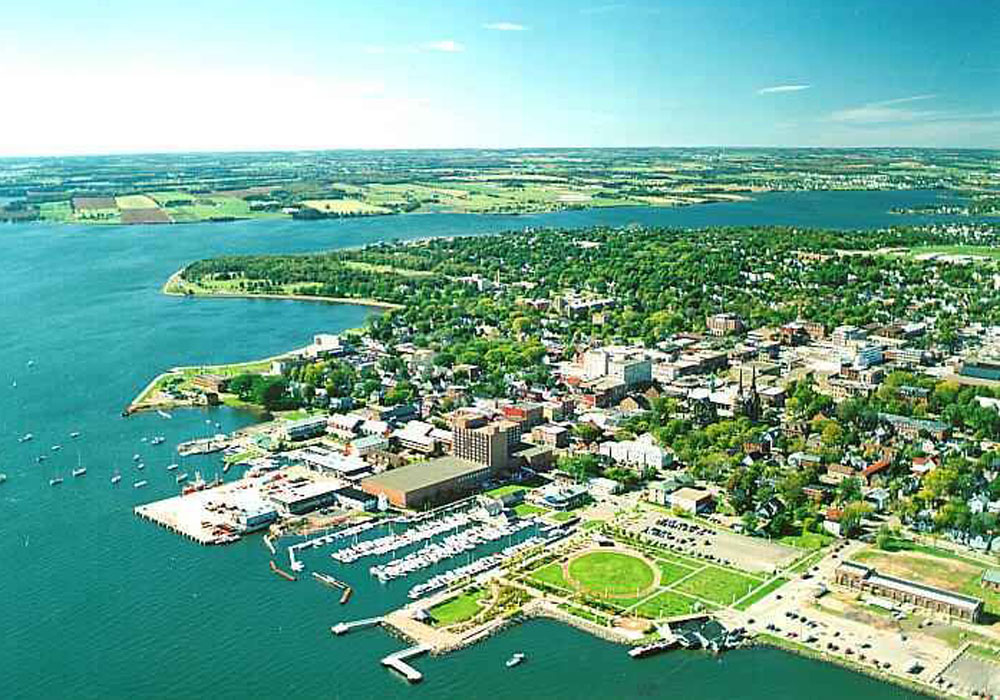 Charlottetown Green Aerial View
